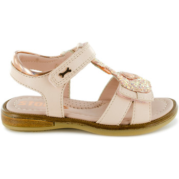 Chaussures Fille Sandales et Nu-pieds Stones and Bones Swan Nude Rose