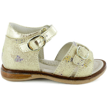 Chaussures Fille Sandales et Nu-pieds Stones and Bones Dalf Champagne Doré