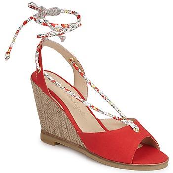 Chaussures Femme Sandales et Nu-pieds Petite Mendigote BLONDIE Rouge
