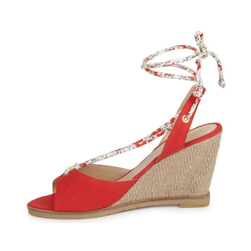 Blondie Et Nu Mendigote Petite Rouge Sandales Femme pieds NnkZP08OXw