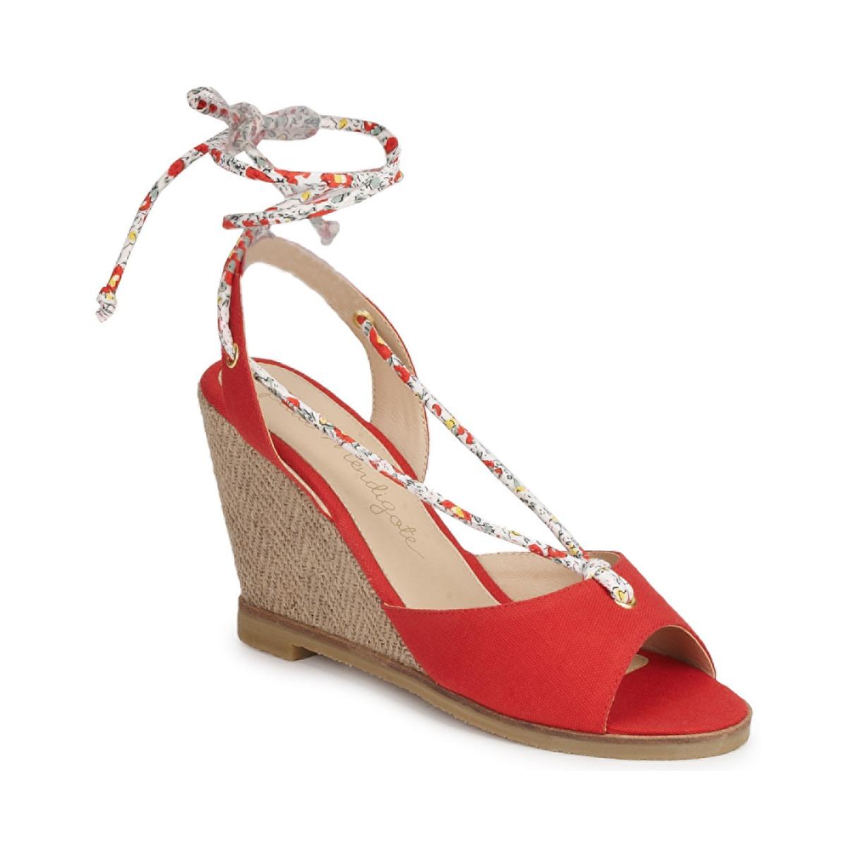 Sandale Petite Mendigote BLONDIE Rouge