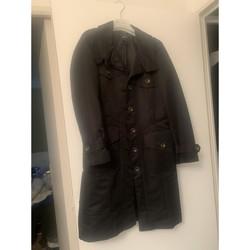 Vêtements Femme Parkas Mango Imperméable Noir