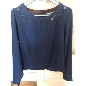 Vêtements Femme Tops / Blouses DDP Blouse bleue DDP T S Bleu