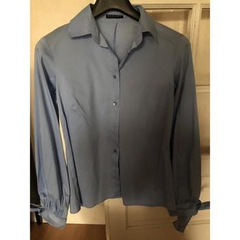 Vêtements Femme Chemises / Chemisiers Sisley Chemisier bleu ciel Sisley XS Bleu