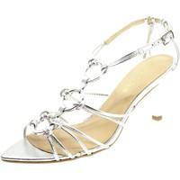 Chaussures Femme Sandales et Nu-pieds Miss Unique 1596A Argento