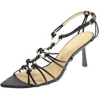 Chaussures Femme Sandales et Nu-pieds Miss Unique 1596A Nero