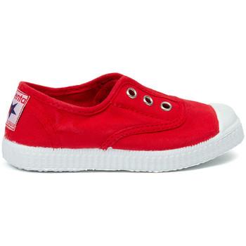 Chaussures Enfant Tennis Cienta Chaussures en toiles bébé  Tintado rouge