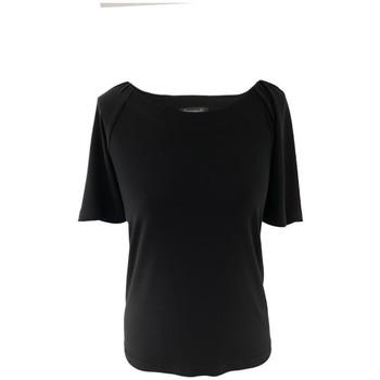 Vêtements Femme Tout accepter et fermer Georgedé Top Vega en Jersey Noir Noir