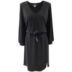 Vêtements Femme Robes courtes Georgedé Robe Sweat Olivia Noire Noir