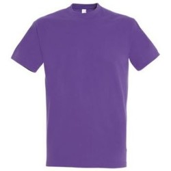 Vêtements Femme T-shirts manches courtes Sols IMPERIAL camiseta color Morado Claro Violeta