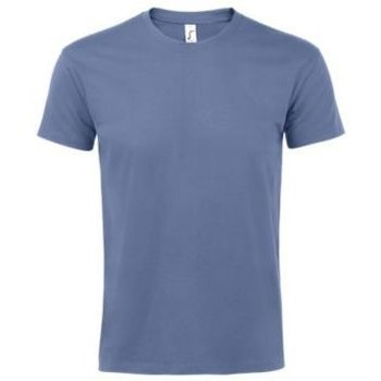 Vêtements Femme T-shirts manches courtes Sols IMPERIAL camiseta color Azul Azul