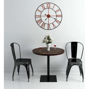 Maison & Déco Horloges Vidaxl 58 cm Rouge
