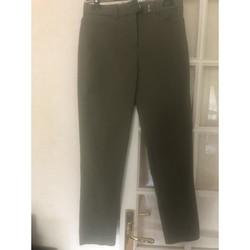 Vêtements Femme Chinos / Carrots Mango Pantalon chino kaki T 36 neuf Kaki
