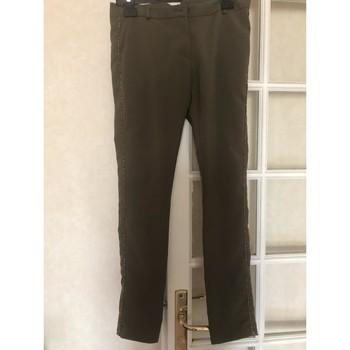 Vêtements Femme Chinos / Carrots Please Pantalon chino ajusté kaki Please xs Kaki