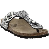 Chaussures Femme Tongs La Maison De L'espadrille 3510 Argent