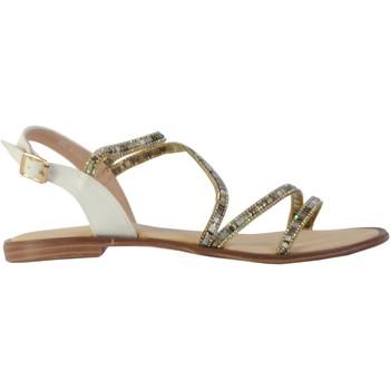 Chaussures Femme Sandales et Nu-pieds The Divine Factory Sandales Blanc