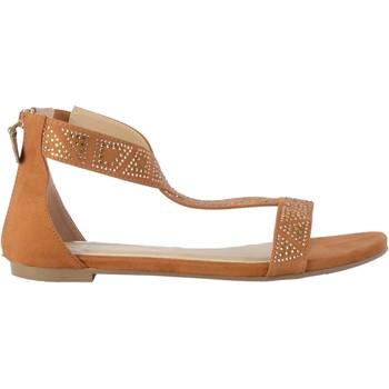 Chaussures Femme Sandales et Nu-pieds The Divine Factory Sandales GD3948 Camel