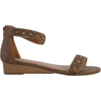 Chaussures Femme Sandales et Nu-pieds The Divine Factory Sandales GD3949 Taupe