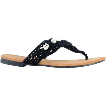 Chaussures Femme Sandales et Nu-pieds The Divine Factory Sandales TX3962 Noir