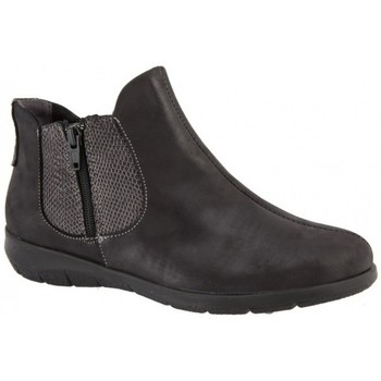 Chaussures Femme Bottines Boissy PICU Gris / Anthracite