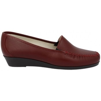 Chaussures Femme Mocassins Boissy PIROUETTE Rouge / Rubis