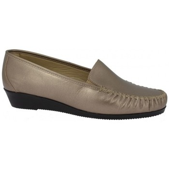Chaussures Femme Mocassins Boissy PIROUETTE Or