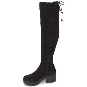 Chaussures Femme Cuissardes Loca Lova WILLOW BLACK Noir