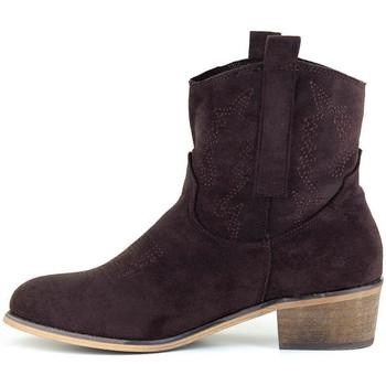 Chaussures Femme Bottines Loca Lova SCARLETT CHOCO BROWN Marron