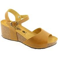 Chaussures Femme Sandales et Nu-pieds Plakton BETANCOUR Moutarde