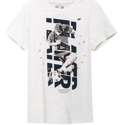 Vêtements Homme T-shirts manches courtes 4F TSM011 Blanc