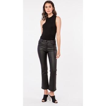 Vêtements Blousons Toxik3 Pantalon enduit - Zela Noir
