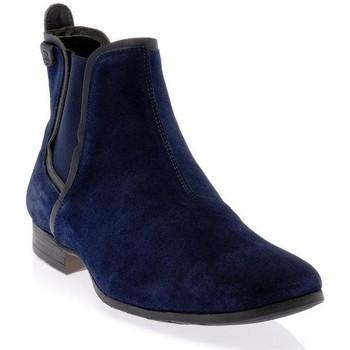 Chaussures Homme Bottes Dillinger 97465BLEU MARINE Marine