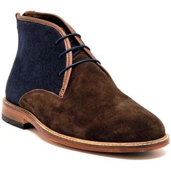 Chaussures Homme Boots Dillinger 98228MARRON/BLEU Marron/Bleu