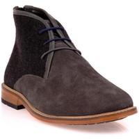 Chaussures Homme Boots Dillinger 98228GRIS/NOIR Gris/Noir