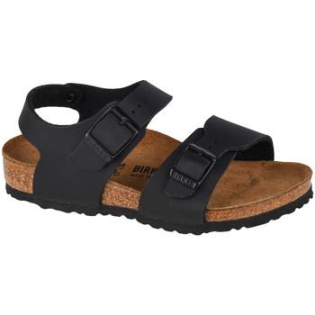 Chaussures Enfant Sandales sport Birkenstock New York BF Kids Noir