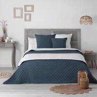 Maison & Déco Couvertures Tri par pertinence Maternelleeur MELLOW CHIC Bleu/Blanc