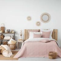 Maison & Déco Couvertures Douceur d intérieur FLORETTE Rose