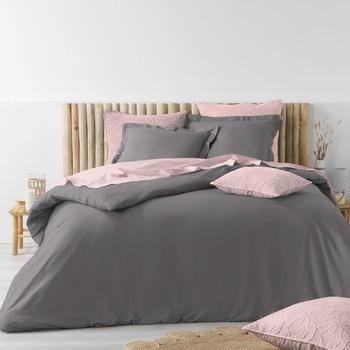 Maison & Déco Parures de lit Douceur d intérieur STONALIA Anthracite