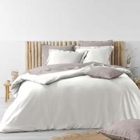 Maison & Déco Parures de lit Douceur d intérieur STONALIA Blanc