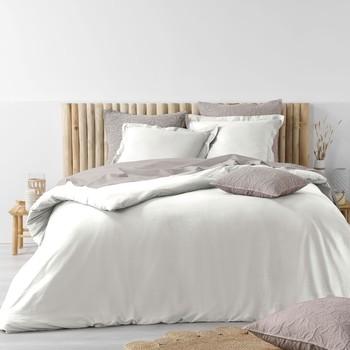 Maison & Déco Parures de lit Tri par pertinence Maternelleeur STONALIA Blanc