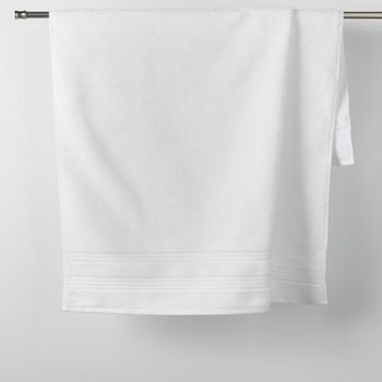 Maison & Déco Serviettes et gants de toilette Douceur d intérieur EXCELLENCE Blanc