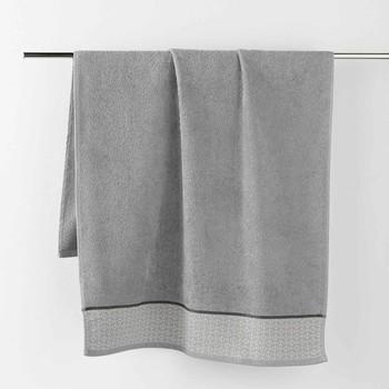 Maison & Déco Serviettes et gants de toilette Douceur d intérieur BELINA Gris