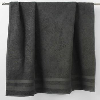 Maison & Déco Serviettes et gants de toilette Douceur d intérieur EXCELLENCE Anthracite