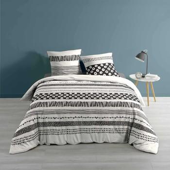 Maison & Déco Parures de lit Douceur d intérieur BLACKY Blanc