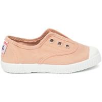 Chaussures Enfant Tennis Cienta Chaussures en toiles bébé  Tintado rose clair