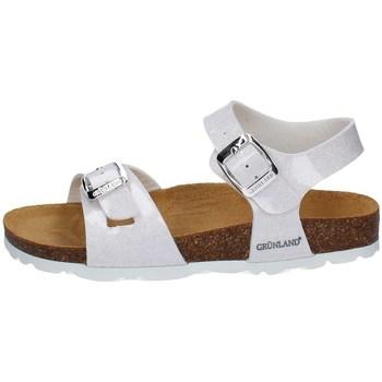 Chaussures Fille Sandales et Nu-pieds Grunland SB1208 BLANC