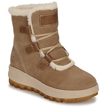Chaussures Femme Bottes de neige Casual Attitude NAREIGNE Beige