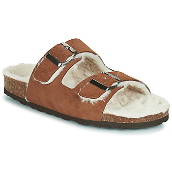 Chaussures Femme Chaussons Casual Attitude NEW Marron
