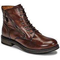 Chaussures Femme Boots Casual Attitude NUNAISE Marron