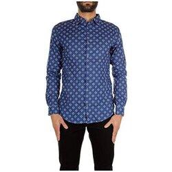 Vêtements Homme Chemises manches longues Armani jeans C6C24MC blue